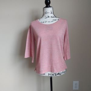 Sunday in Brooklyn salmon bell sleeve top size XS